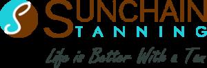 Sunchain Tanning logo watermark